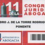 Pedro De La Torre ponente en el Congreso de la Abogacía de Málaga